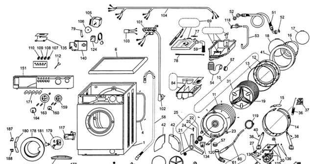 Купить запчасти на стиральную машину bosch